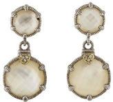 Judith Ripka Doublet Drop Earrings