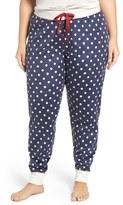 PJ Salvage Print Jogger Sweatpants (Plus Size)
