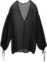 Isabel Benenato V-neck blouse