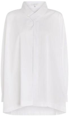 eskandar Asymmetric-Hem Shirt