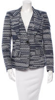 Derek Lam Textured Button-Up Blazer