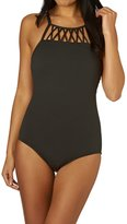 Seafolly High Neck Maillot Swimsuit