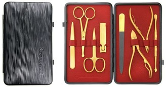 Czech & Speake Gold-Plated Manicure Set