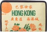 Balenciaga Bazar Hong Kong Leather Mini Pouch