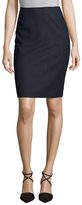 Back Vent Pencil Skirt
