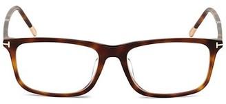 Tom Ford 57MM Plastic Square Optical Glasses