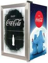 NostalgiaTM Electrics Coca-Cola® 80 Can Beverage Cooler in Blue