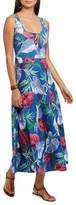 Chaps Petite Floral Jersey Maxidress