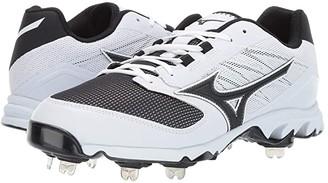 Mizuno 9-Spike Dominant 2 (White/Black) Men's Shoes