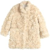 Simonetta Faux Fur Coat
