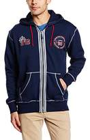 Joe Browns Men's on the Road Zip Thru Hoodie