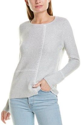 LISA TODD Stepped Up Sweater