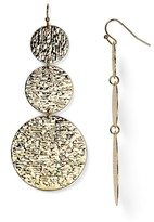 Aqua Andrea Triple Disc Drop Earrings - 100% Exclusive