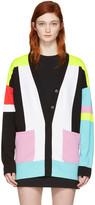 Emilio Pucci Multicolor Colorblock Cardigan