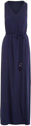 Paolita Navy Blue Maxi Dress