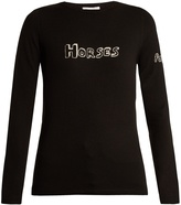 Bella Freud Horses wool sweater