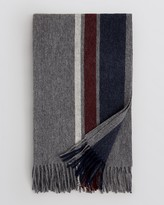 Bloomingdale's The Men's Store at Triple Stripe Blanket Scarf