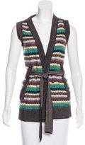 M Missoni Wool Striped Vest