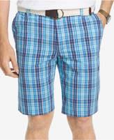 "Izod Men's 10.5"" Portsmith Plaid Shorts"