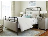 Paula Deen Dogwood Upholstered Metal Bed Complete in Rubbed Bronze Finish