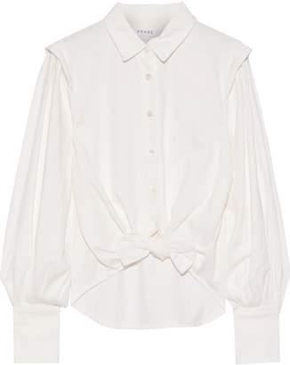 Frame Knotted Denim Shirt