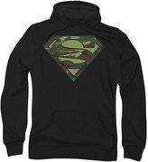 Superman Mens Camo Logo Hoodie
