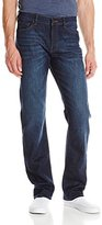 DL1961 Men's Vince Casual Straight Jeans In Industry