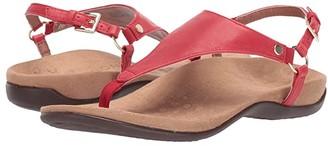 Vionic Kirra (Cherry) Women's Sandals