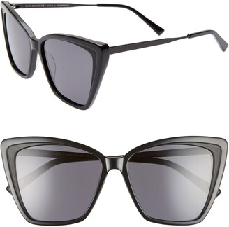 DIFF Becky II 55mm Cat Eye Sunglasses