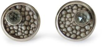 Isabel Englebert Round Quartz Bullet Cufflinks