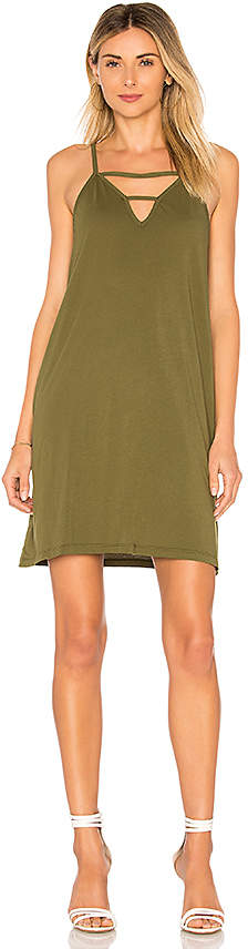 Bobi Supreme Jersey Slip Dress
