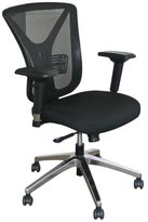 Marvel Executive Mesh Chair with Aluminum Base