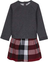 Burberry Checked sweater dress 4-14 years