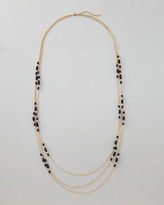 Panacea Triple-Strand Bead-Station Necklace