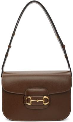 Gucci Brown 1955 Horsebit Bag