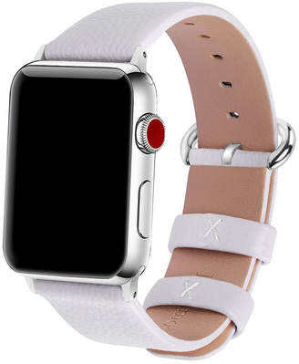 Women Solid Color Leather Apple Watch Strap 42mm