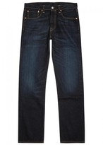 Levi's 501 Original Dark Blue Straight-leg Jeans