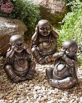 Fashion World Set of 3 Buddhas