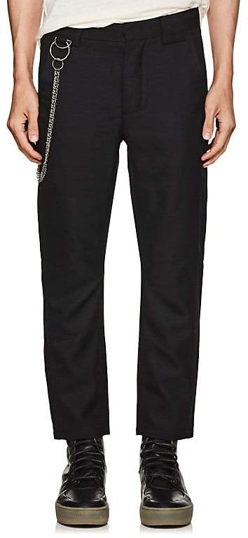 Chapter MEN'S CHAIN-EMBELLISHED COTTON TROUSERS