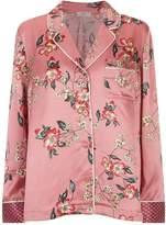 Joie Lillit Floral Pyjama Shirt, Pink, L