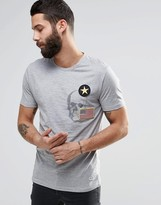 Only & Sons Crew Neck T-shirt With Print And Badge Detail