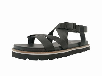 The Drop Women's Ivette Flatform Web Strapped Sport Sandal
