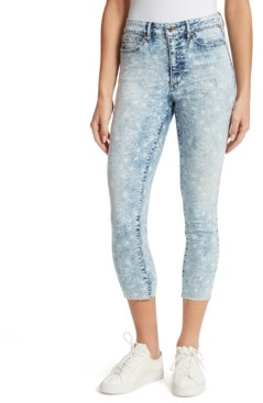 Ella Moss Super High Cropped Skinny Jeans