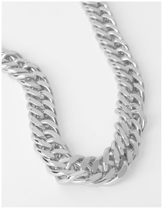 Basque Chunky Curb Chain Necklace