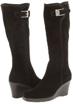 La Canadienne Isadora (Black Suede) - Footwear