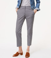 LOFT Gingham Pencil Pants in Julie Fit