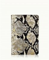 GiGi New York 2017 Daily Journal Gold Wash Embossed Leather