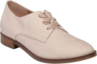 Vionic Lace-Up Leather Derby Shoes - Evelyn