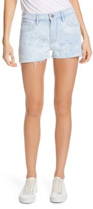 Frame Le Grand Garcon High Waist Cutoff Denim Shorts