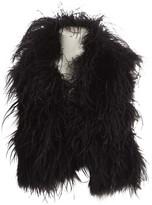 Co Black Cotton Jacket for Women